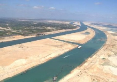 Le projet du nouveau canal de Suez