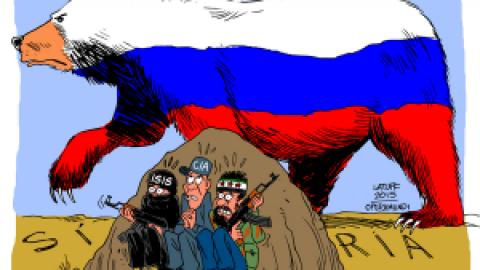 « Les Russes arrivent !!!»