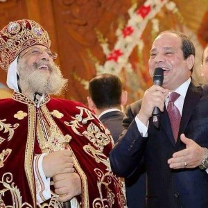 El Sisi's visit to Coptic Cathedral 2016