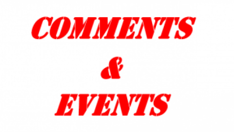 COMMENTS & EVENTS