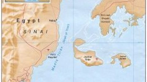 Egypt's surrender of its isles to Al Saoud