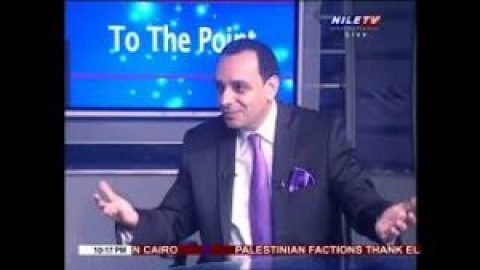 Dr. Cherif AMIR gives his assessment of the Israeli Palestinian peace negotiations NILE TV 9/2/2021